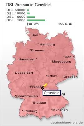 Dsl Geschwindigkeit Berechnen : plz geusfeld postleitzahl 96181 vorwahl 09554 dsl ~ Themetempest.com Abrechnung