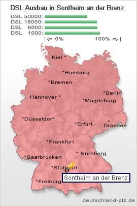 Dsl Geschwindigkeit Berechnen : plz sontheim an der brenz postleitzahl 89567 vorwahl ~ Themetempest.com Abrechnung